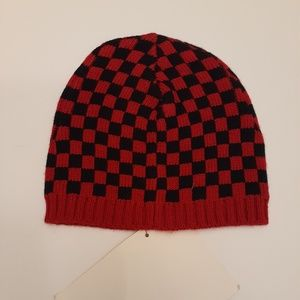 🎯OP checkered knit hat. 3T